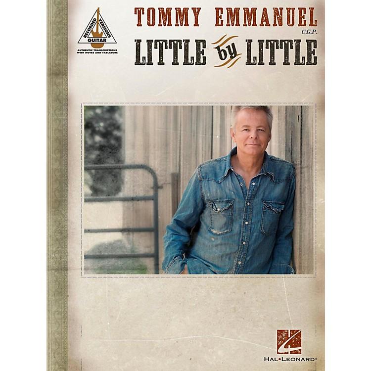 Hal LeonardTommy Emmanuel - Little By Little Guitar Tab songbook