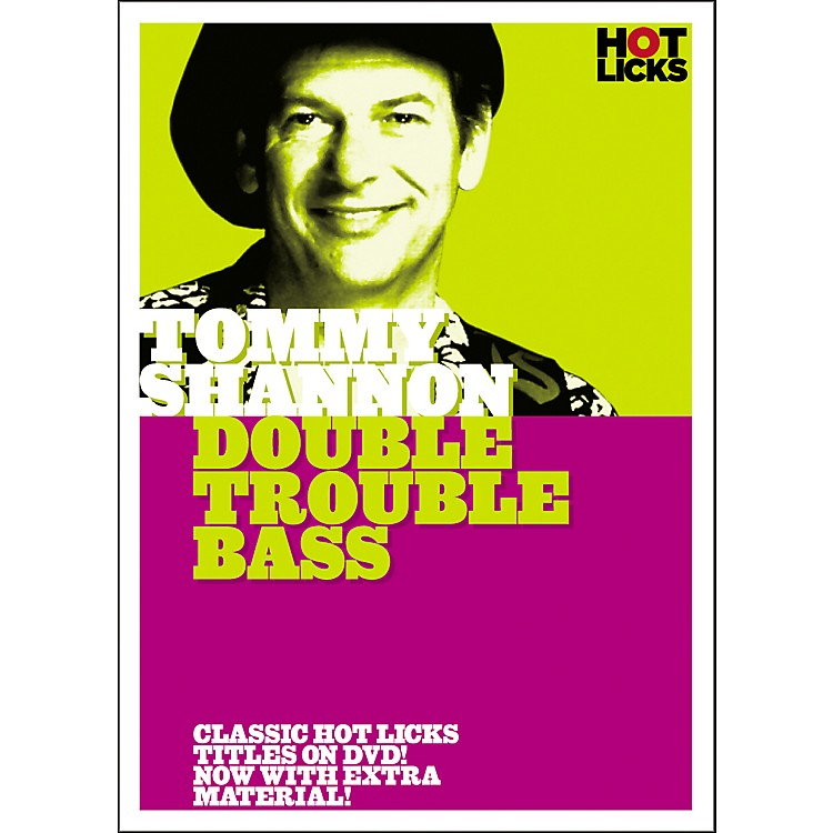Hot Licks Tommy Shannon: Double Trouble Bass DVD