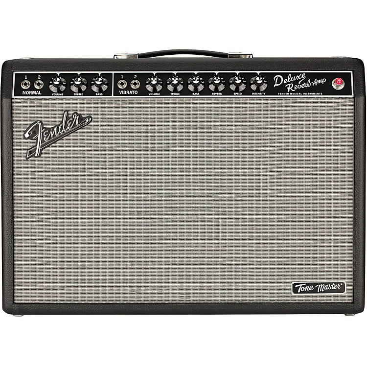 Fender Tone Master Deluxe Reverb 100W 1x12 Guitar Combo Amp Black