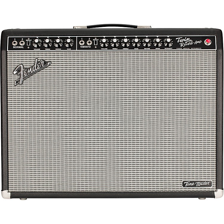FenderTone Master Twin Reverb 100W 2x12 Guitar Combo AmpBlack