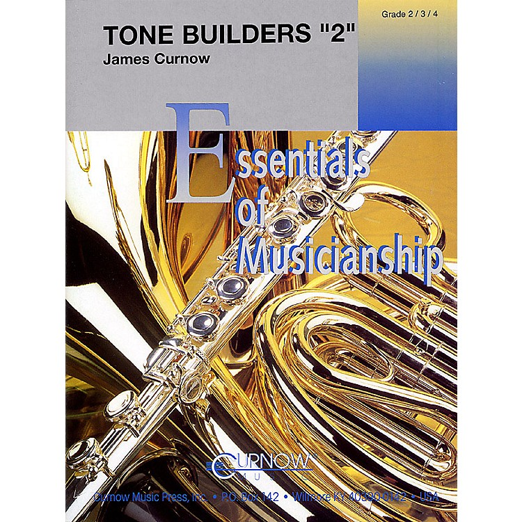 Curnow MusicTone Studies 2 (Grade 2 to 4 - Score Only) Concert Band Level 2-4 Composed by James Curnow