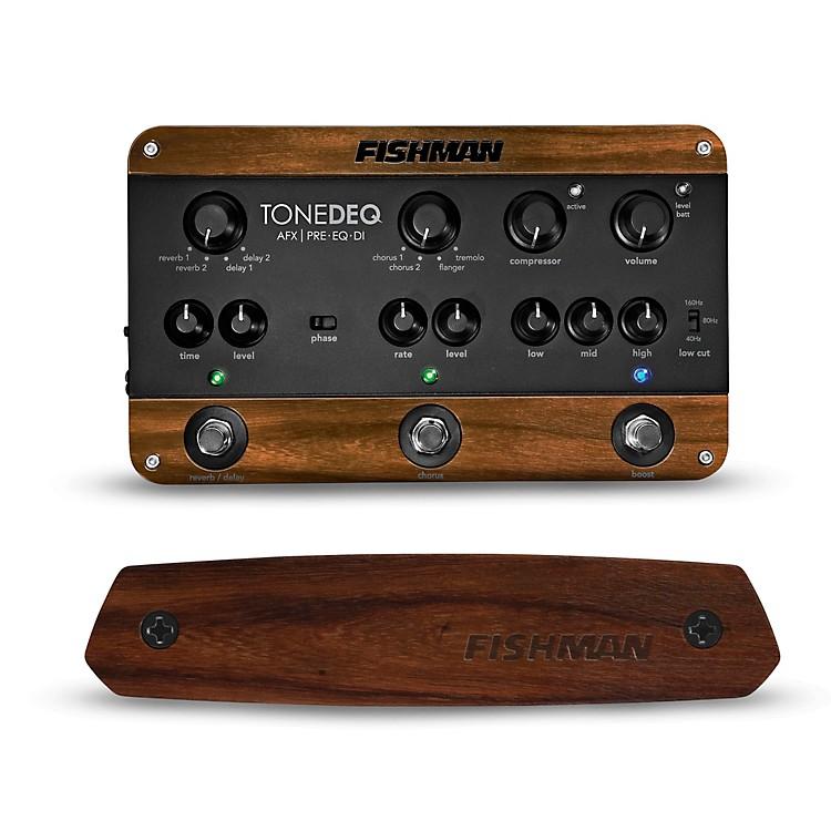 FishmanToneDEQ Preamp EQ and Neo-D Passive Soundhole Guitar Pickup