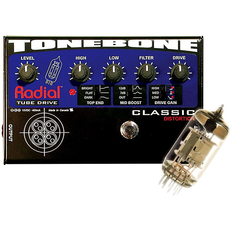 Radial Engineering Tonebone Classic Tube Distortion Pedal  888365769059