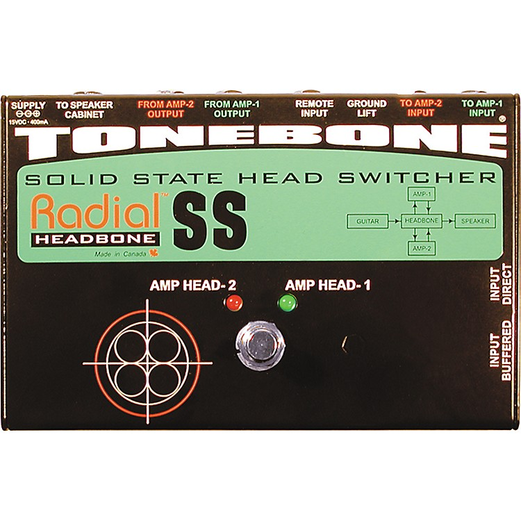 Radial EngineeringTonebone Headbone SS Switcher for Solid-State Amps