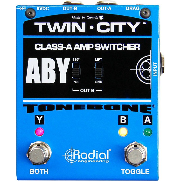 Radial EngineeringTonebone Twin-City Active ABY Switcher
