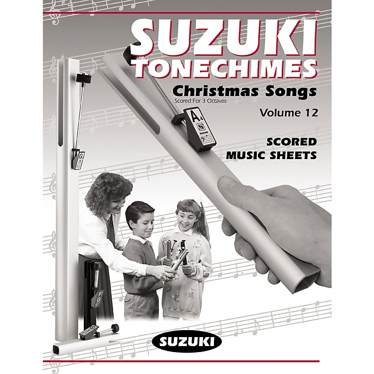 SuzukiTonechime Arrangements 12 for Handbells Book