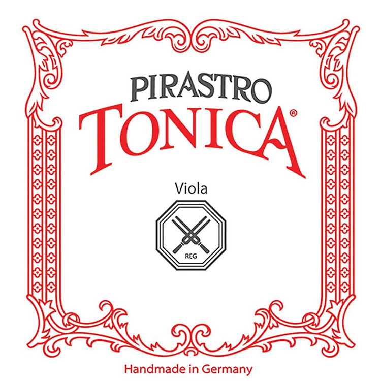 Pirastro Tonica Series Viola C String 16.5-16-15.5-15-in. Silver Stark