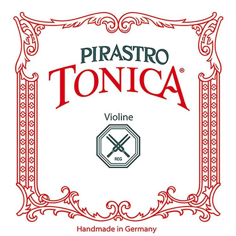 PirastroTonica Series Violin String Set4/4 Size Medium - E String Silvery Steel Ball End