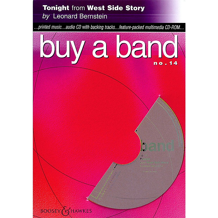 Hal Leonard Tonight (from West Side Story) (Buy a Band No. 14) Instrumental Series CD-ROM