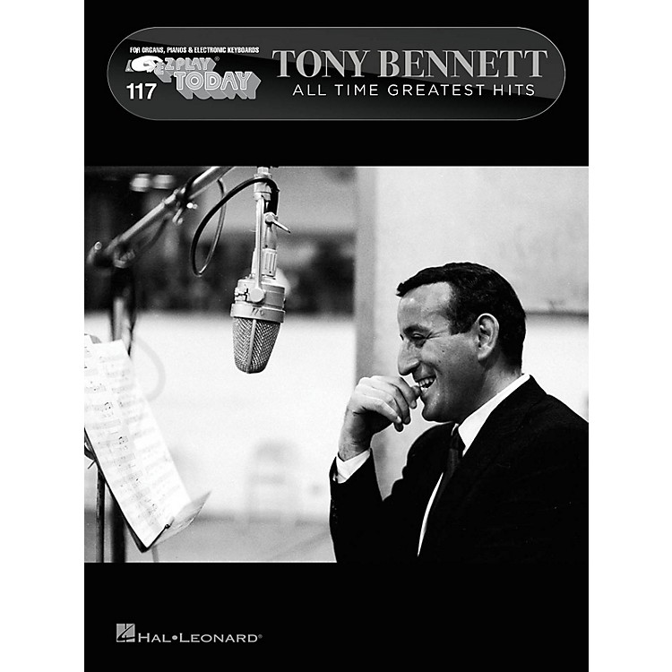 Hal Leonard Tony Bennett - All Time Greatest Hits E-Z Play Today #117 Songbook