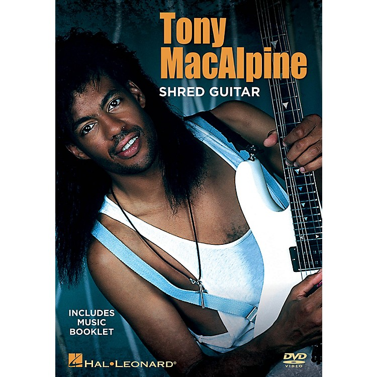 Hal Leonard Tony MacAlpine - Shred Guitar DVD Series DVD Written by Tony MacAlpine