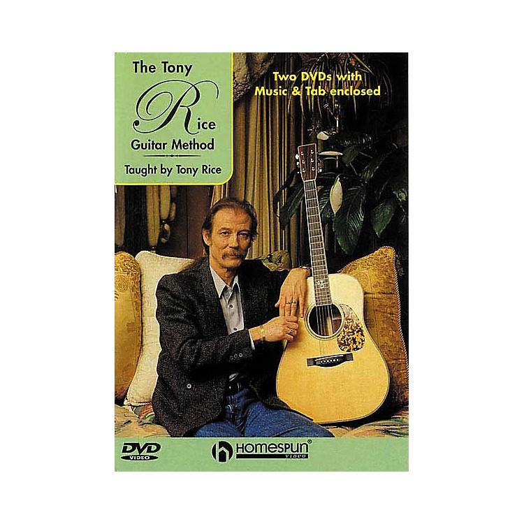 HomespunTony Rice Guitar Method (2-DVD Set)