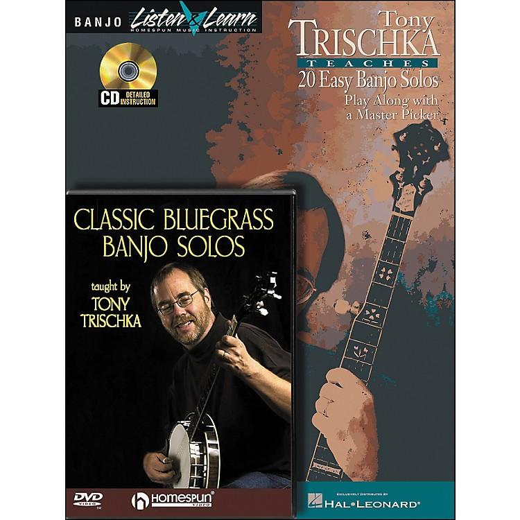 Hal LeonardTony Trischka Banjo Bundle Pack (Book/CD/DVD)