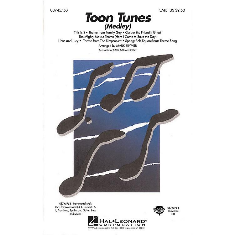 Hal LeonardToon Tunes 2-Part Arranged by Mark Brymer
