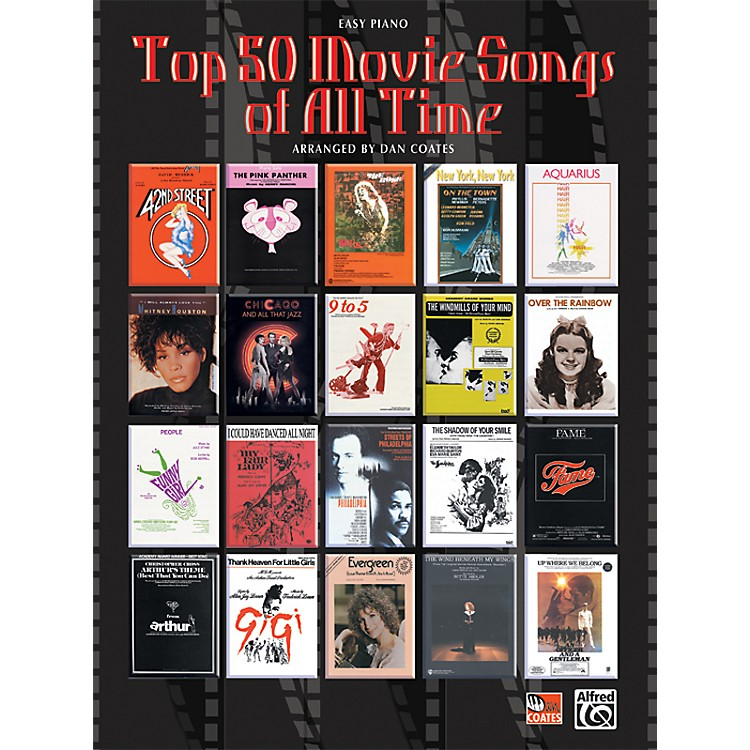 Alfred Top 50 Movie Songs of All Time