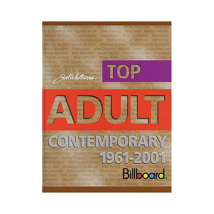 Record ResearchTop Adult Contemporary 1961-2001 Book