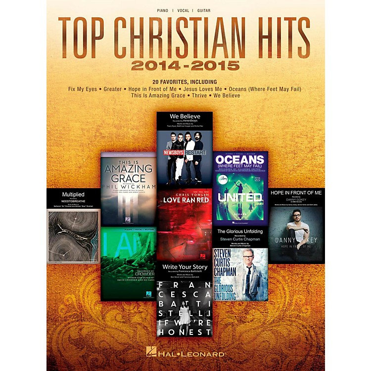 Hal Leonard Top Christian Hits 2014-2015 for Piano/Vocal/Guitar Songbook