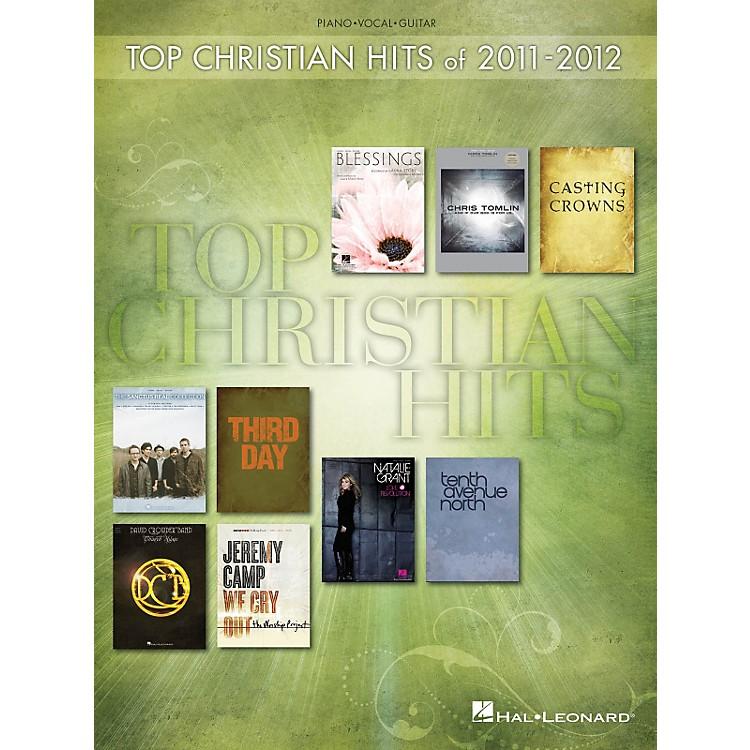 Hal LeonardTop Christian Hits Of 2011-2012 P/V/G Songbook