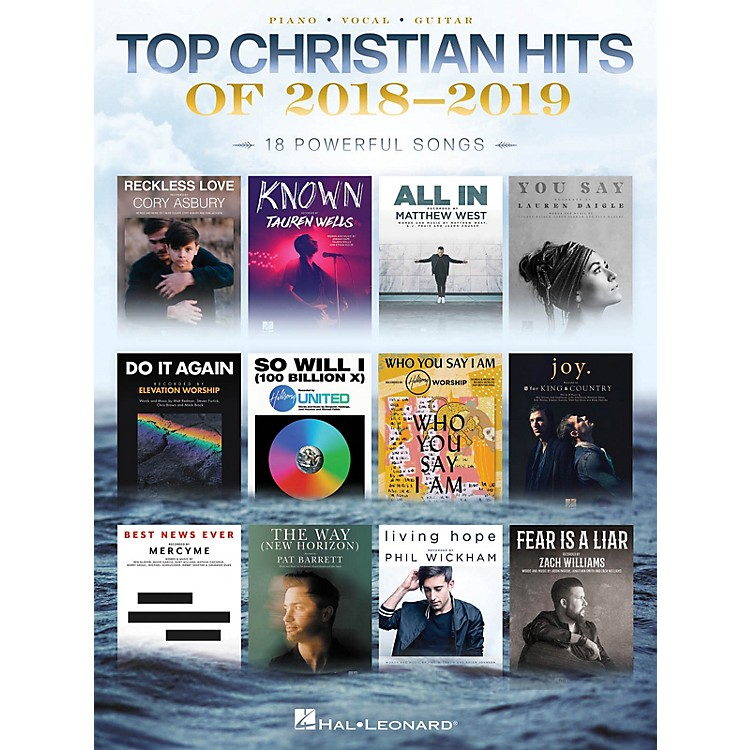 Hal Leonard Top Christian Hits of 2018-2019 Piano/Vocal/Guitar Songbook