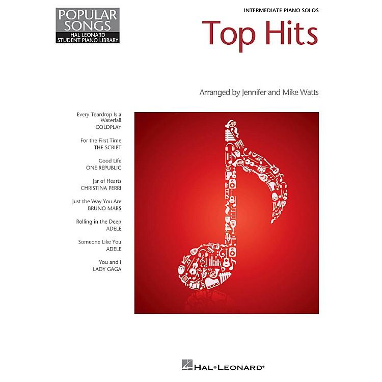 Hal LeonardTop Hits - Hal Leonard Student Piano Library Popular Songs Series Intermediate Level