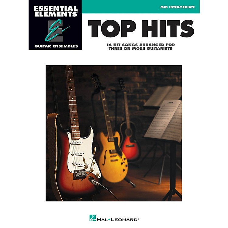 Hal Leonard Top Hits Essential Elements Guitar Series Softcover Performed by Various