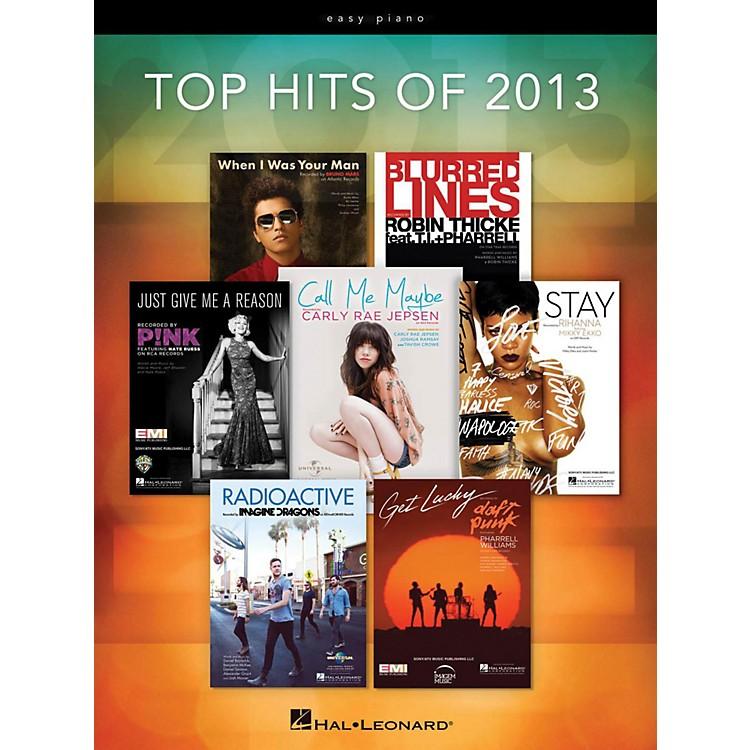 Hal LeonardTop Hits Of 2013 for Easy Piano