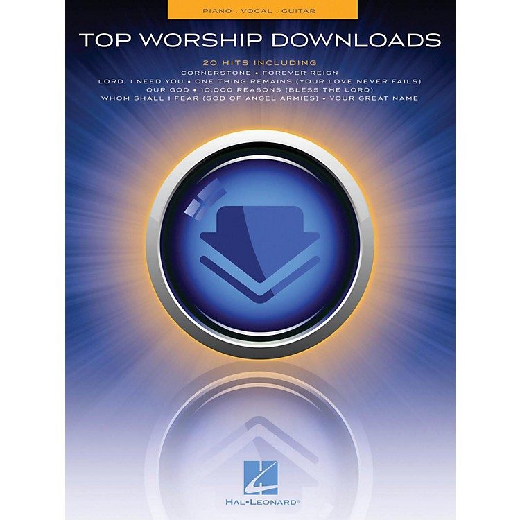 Hal Leonard Top Worship Downloads Piano/Vocal/Guitar (PVG)