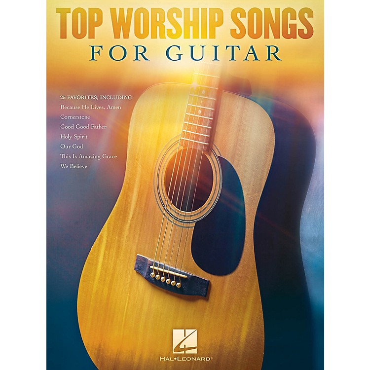 Hal LeonardTop Worship Songs for Guitar Guitar Collection Series Softcover Performed by Various
