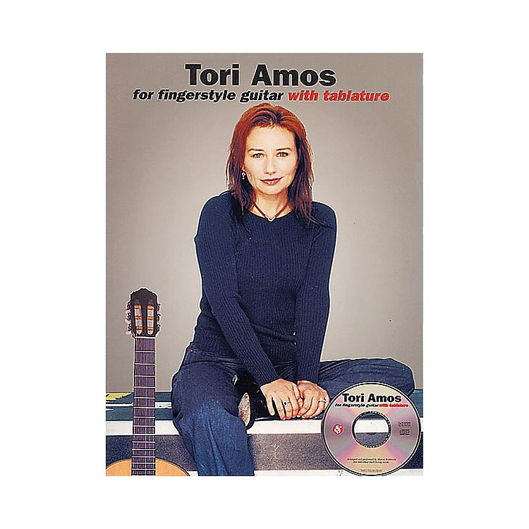 Music SalesTori Amos for Fingerstyle Guitar Music Sales America Series Softcover with CD Performed by Tori Amos