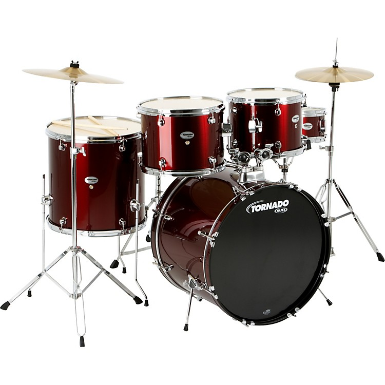 MapexTornado 5-Piece DrumsetWine Red