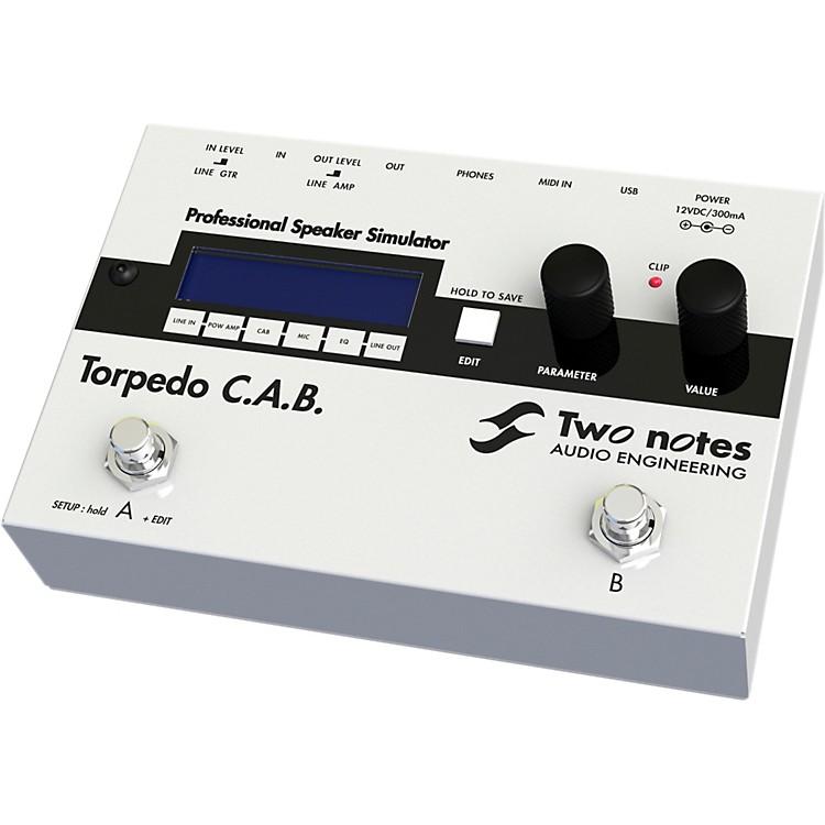 Two Notes Audio EngineeringTorpedo C.A.B. Digital Speaker Cabinet Simulator Pedal