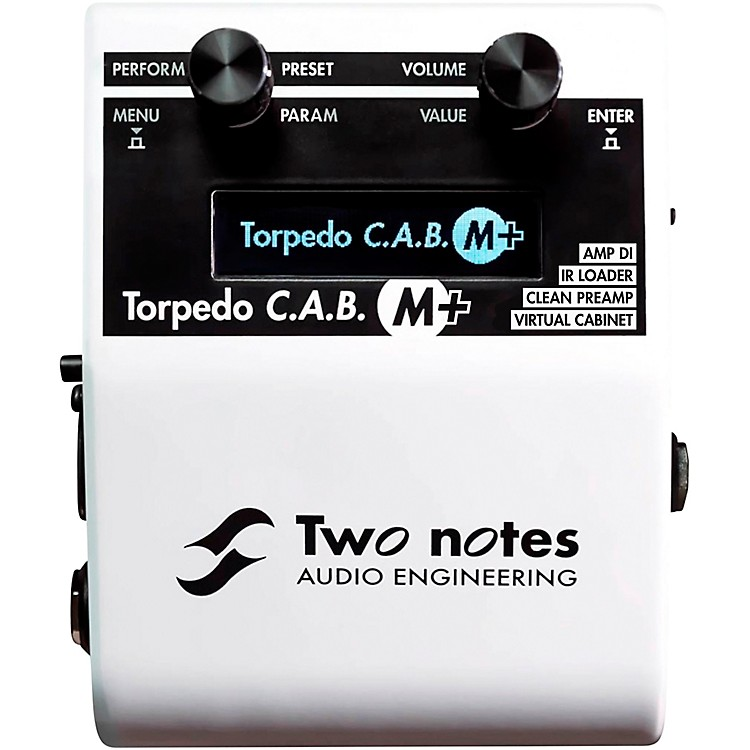 Two Notes Audio Engineering Torpedo C.A.B. M Speaker Simulator Effects Pedal