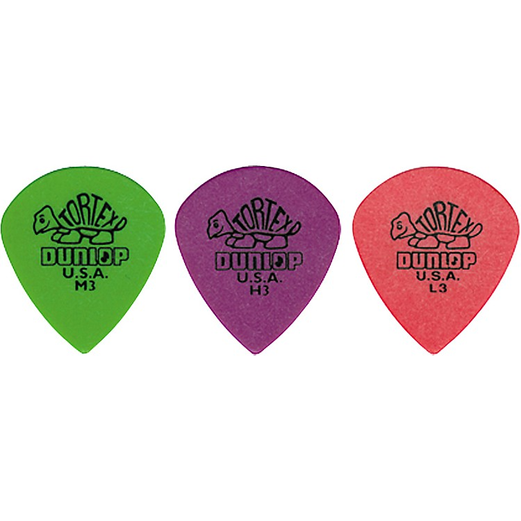Dunlop Tortex Jazz Guitar Pick Thin 3 Dozen