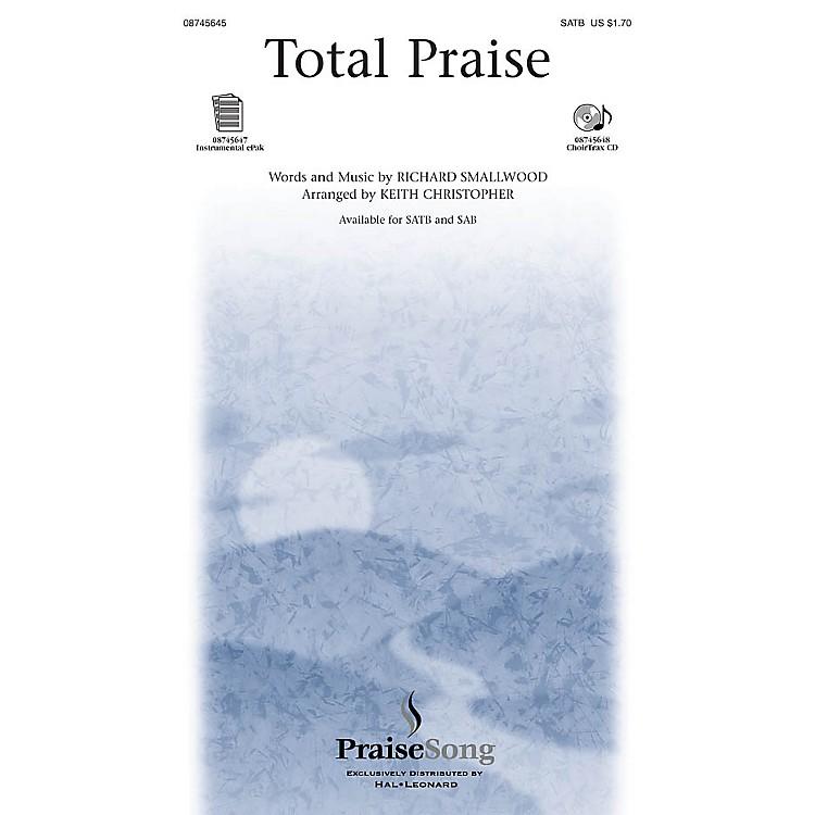 PraiseSongTotal Praise IPAKO Arranged by Keith Christopher