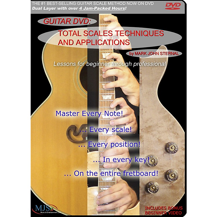 MJS Music PublicationsTotal Scales Techniques And Applications DVD