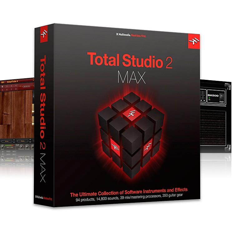 IK MultimediaTotal Studio 2 MAX CrossGrade (Boxed)