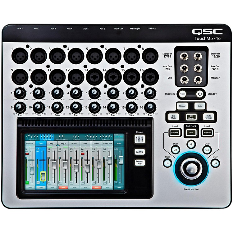QSCTouchMix-16 16-Channel Compact Digital Mixer