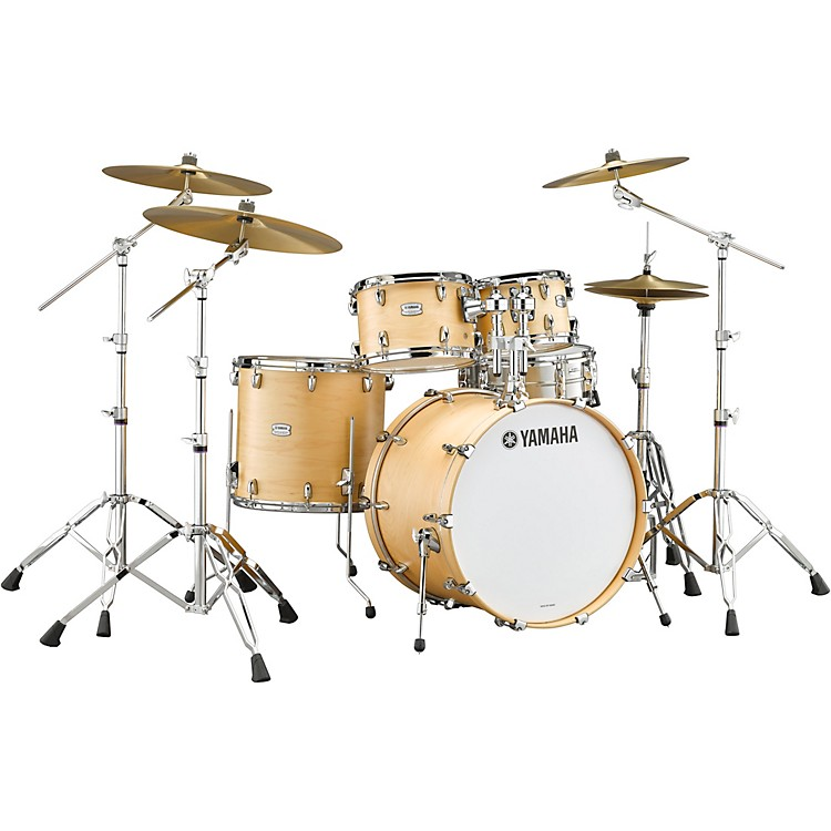 Yamaha Tour Custom Maple 4-Piece Shell Pack with 22 in. Bass Drum Butterscotch Satin