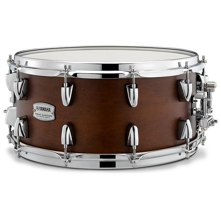 YamahaTour Custom Maple Snare Drum14 x 6.5 in.Chocolate Satin