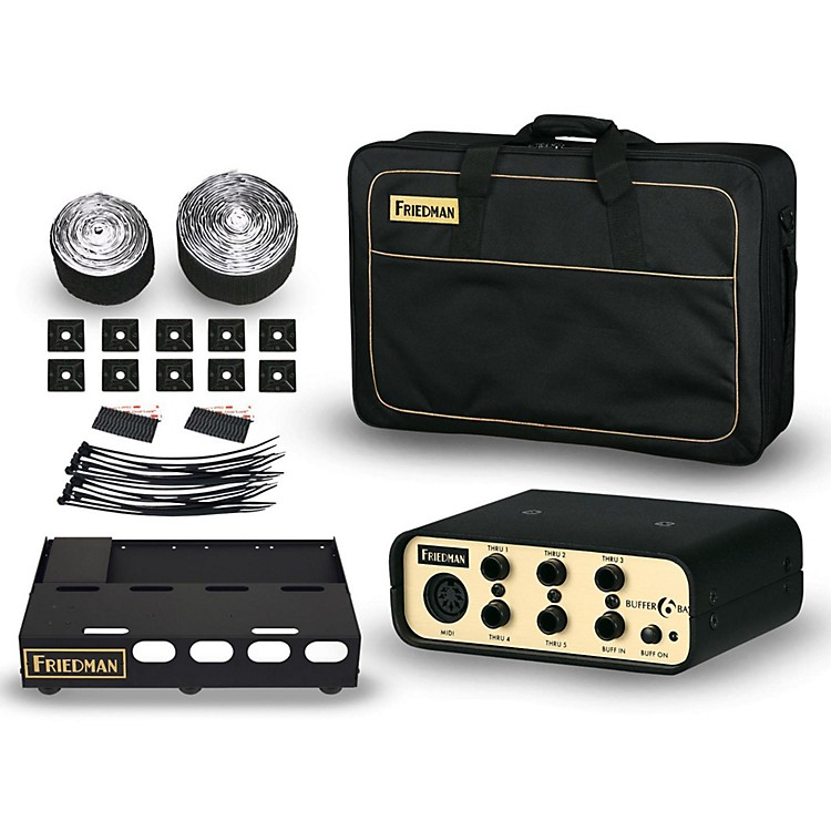 FriedmanTour Pro 1520 Gold Pack 15 x 20 in. Pedalboard with Buffer Bay