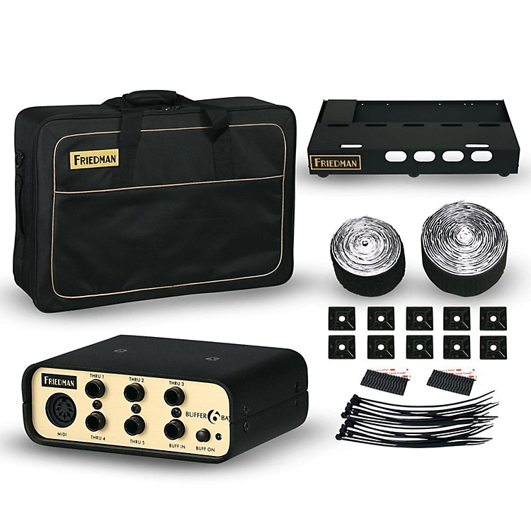 FriedmanTour Pro 1525 Gold Pack 15 x 25 in. Pedalboard with Buffer Bay