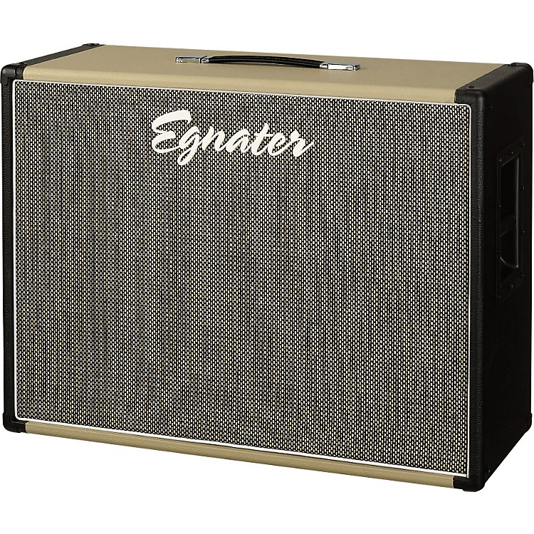 EgnaterTourmaster 212X 2x12 Guitar Extension CabinetBlack and Beige