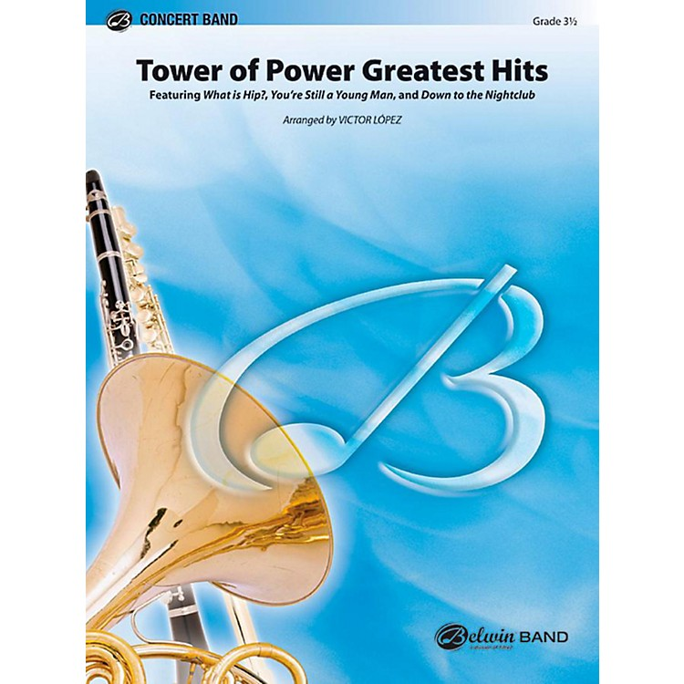 Alfred Tower of Power Greatest Hits Concert Band Level 3.5 Set