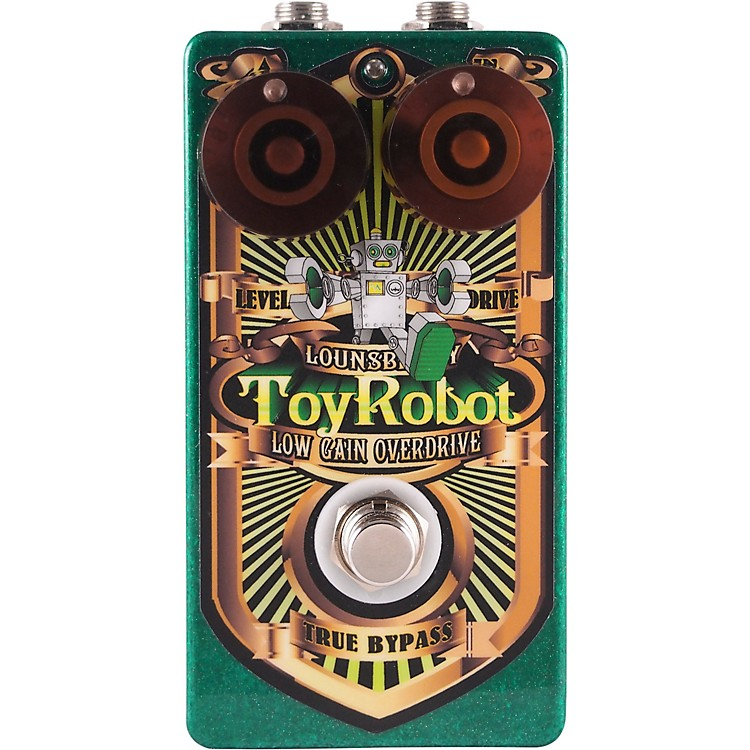 Lounsberry PedalsToy Robot Low-Gain Overdrive Effects Pedal