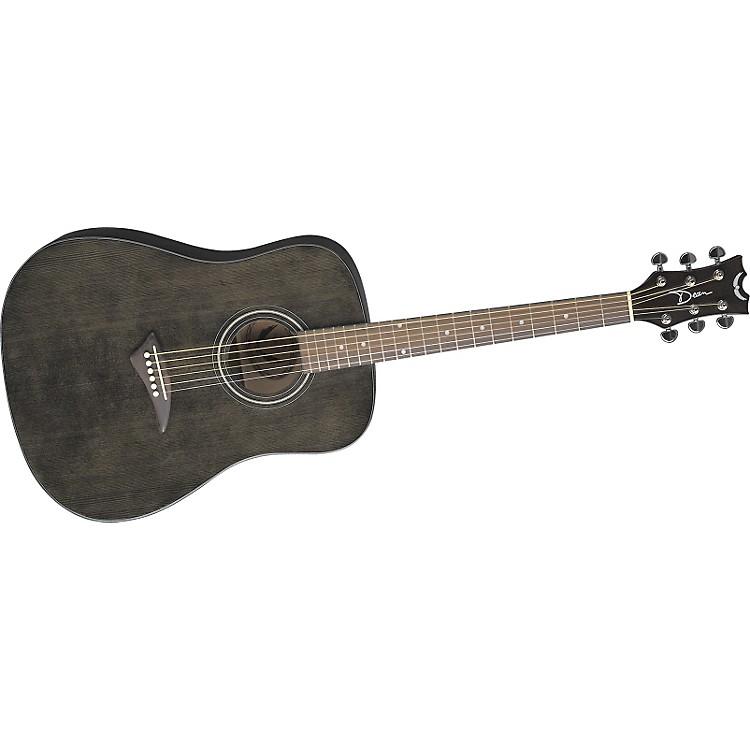 DeanTradition AK48 Dreadnought Acoustic GuitarTransparent Black