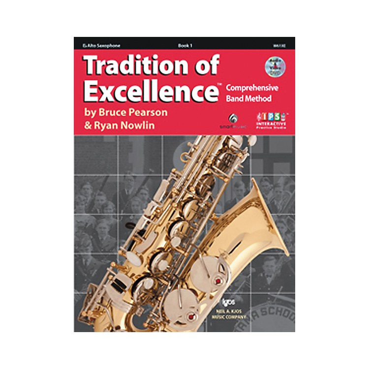 KJOSTradition Of Excellence Book 1 for Alto Sax