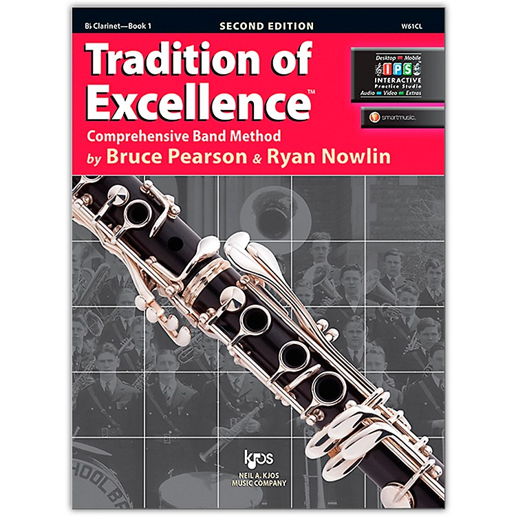 KJOSTradition Of Excellence Book 1 for Clarinet