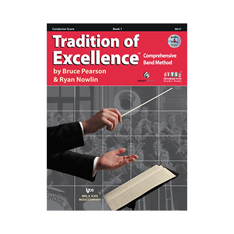 KJOSTradition Of Excellence Book 1 for Conductor