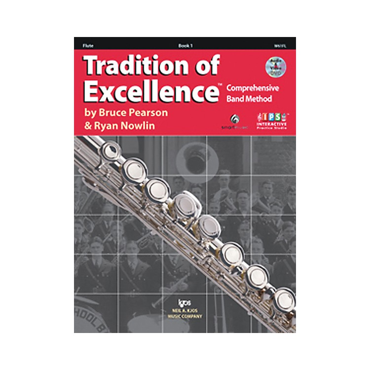 KJOSTradition Of Excellence Book 1 for Flute