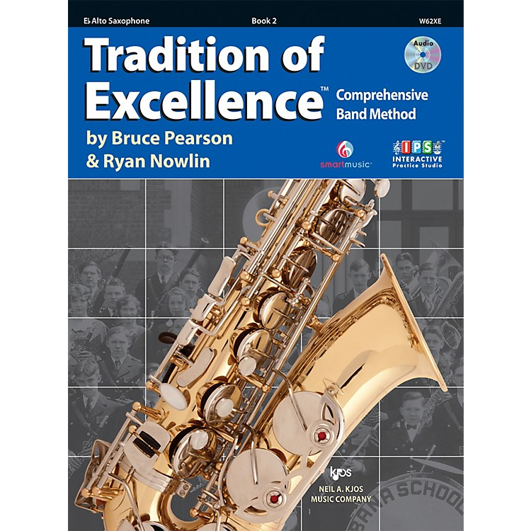 KJOSTradition Of Excellence Book 2 for Alto Sax
